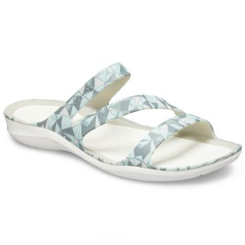 Crocs Womens Swiftwater Printed Sandal